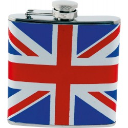 Pocket Union Jack England Whiskey Plunger