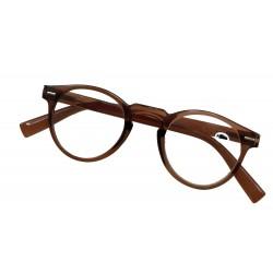 Læse briller +1,50 Duga Brun