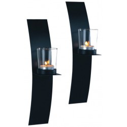 Metal wall sconces - set of two