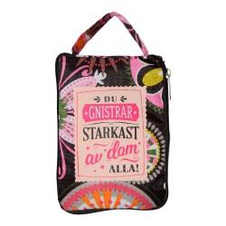 Stjernsund Handbag with chain strap Velvet Gray Bag